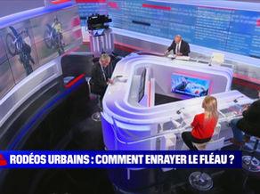 BFM Story : Comment enrayer le fléau des rodéos urbains ? Le modèle orléanais.  27/05/21