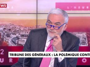 Tribune des généraux retraités - CNEWS - HDPROS - 27/04/21 -