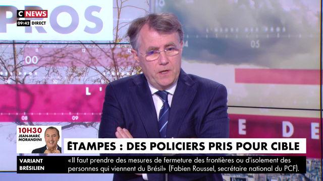 Violences à Etampes - HDPROS CNEWS - 13/04/21