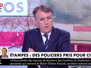 Violences à Etampes - HDPROS CNEWS - 13/04/21