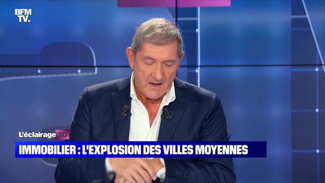 Orléans - Hausse du prix de l'immobilier dans les villes moyennes - CALVI 3D BFMTV - 09/09/21