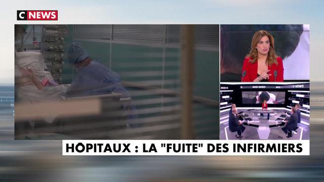 Hommage à l'abnégation du personnel soignant - Midi-News - CNEWS - 29/06/21