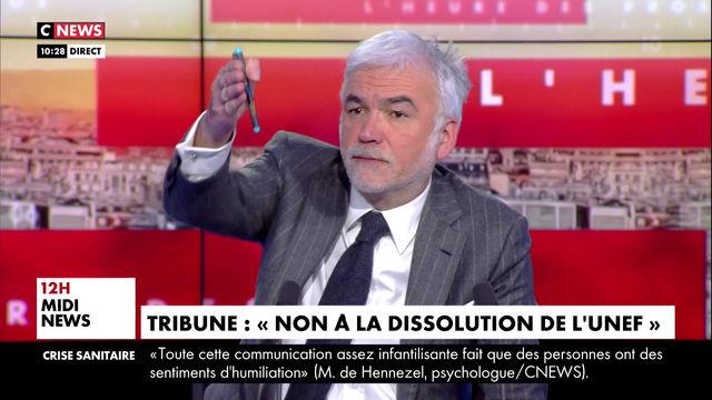 Dissolution de l'UNEF ? CNEWS - L'heure des pros - 23/03/21