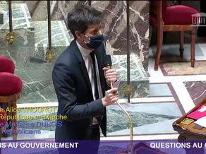Question au gouvernement - La déconstruction de notre histoire est En Marche !!