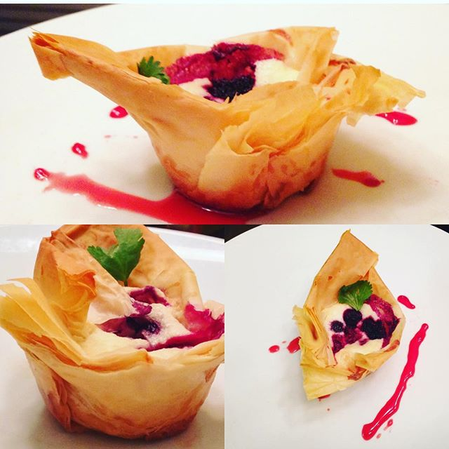 Wildberry Cheesecake Tart #ChefJarvisWilliams #foodporn