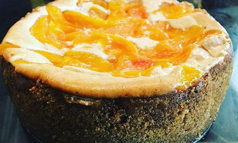 Georgia Peach Cobbler Cheesecake
