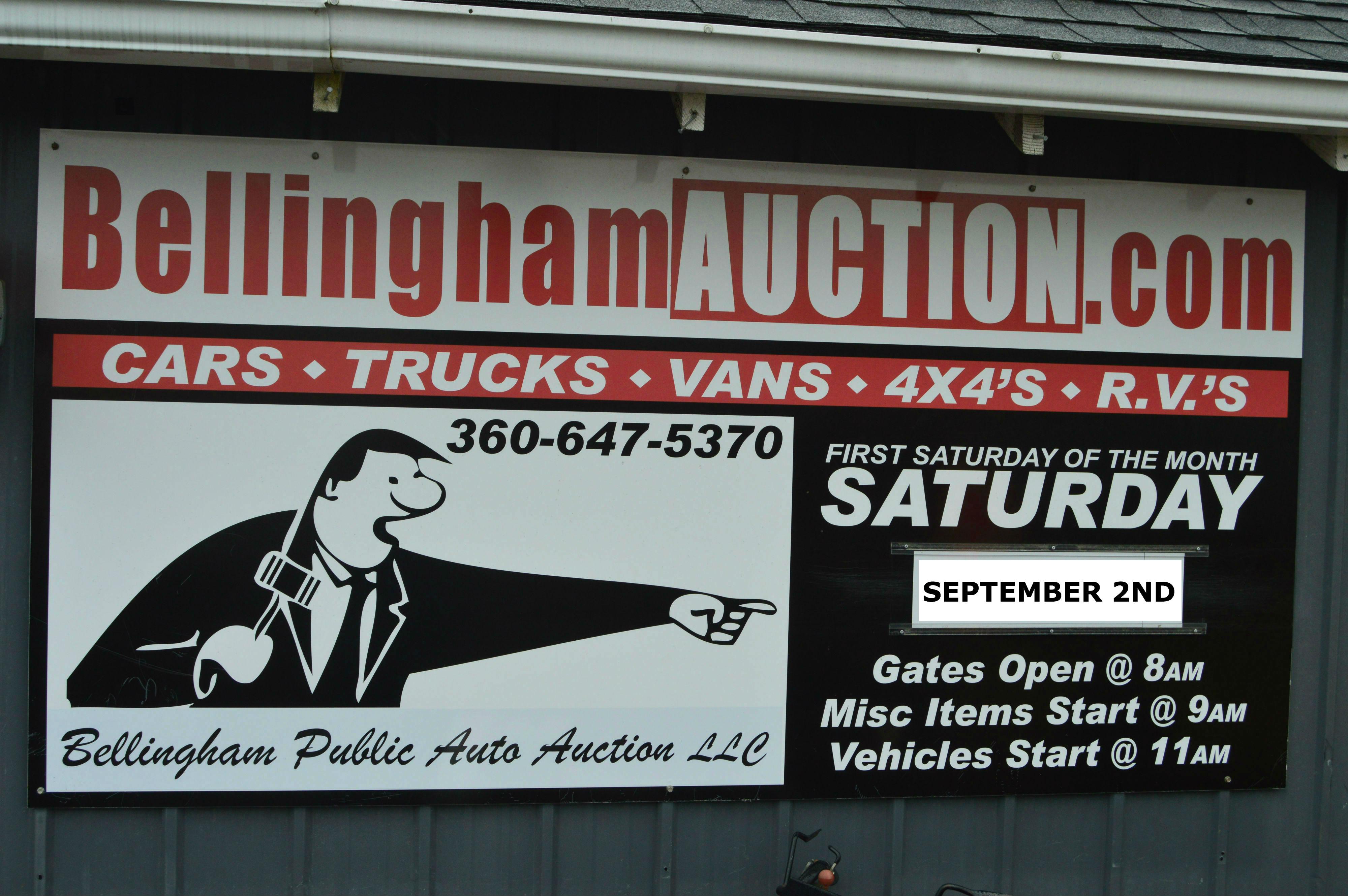 Bellingham Public Auction