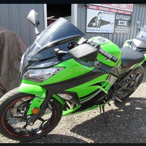 2014 Kawasaki Ninja 600
