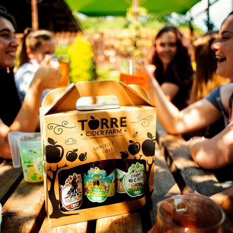 Torre Farm cider - Lifestyle