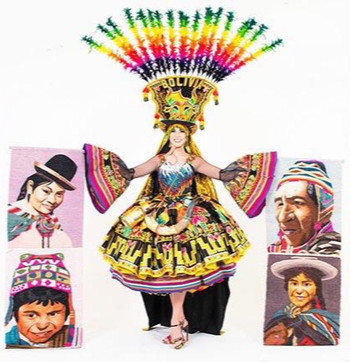 Miss Bolivia's National Costume