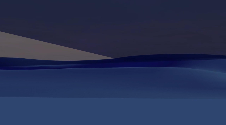 Mer abstraite bleue