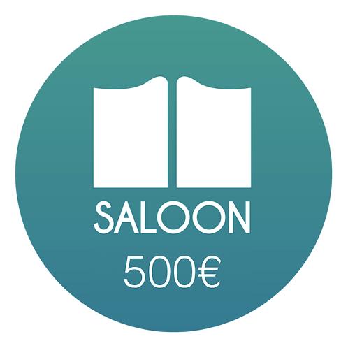 Adhésion annuelle - SALOON PARIS/GINGERPROD