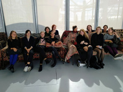 Day 6 Centre Pompidou with curator of Hors Pistes festivalGéraldine Gomez