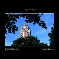 High Rise Blue Skies