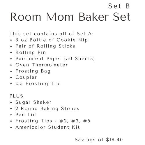 ROOM MOM BAKER VALUE - Set B