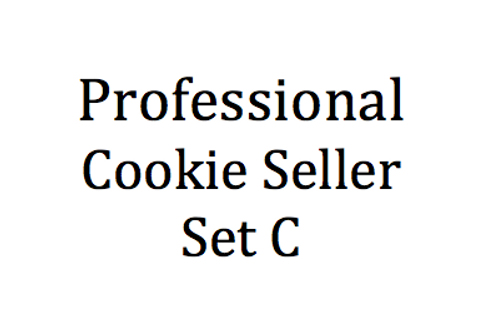 PROFESSIONAL COOKIE SELLER VALUE - Set C