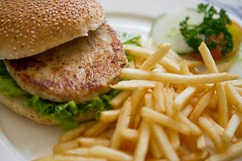Chicken Burger Patty (Frozen)
