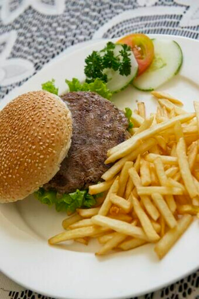 Beef Burger Patty (Frozen)