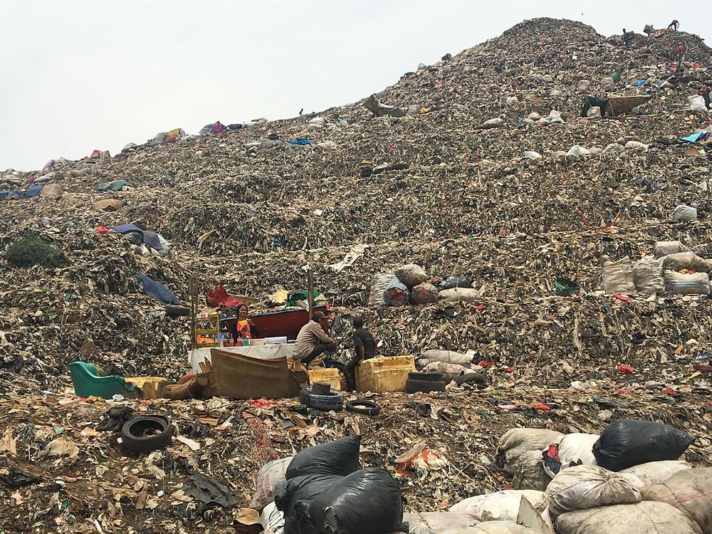 CLOCC at landfill in Indonesia