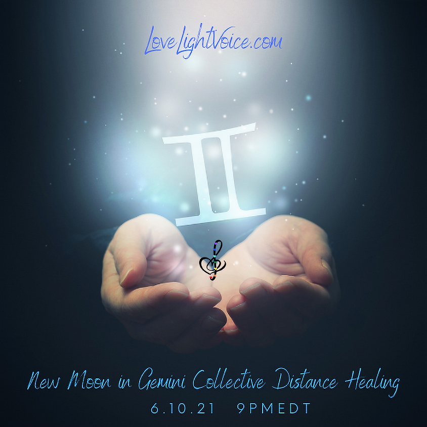 New Moon in Gemini Collective Distance Healing