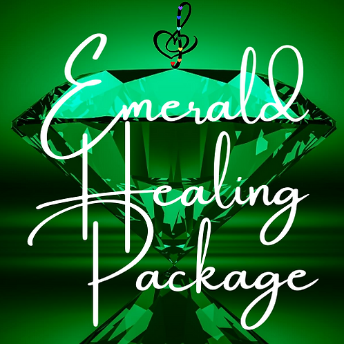 Emerald Healing Package: 6 Distance sessions with Sound Healing