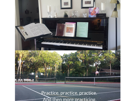 On the frustration that is sometimes known as practice