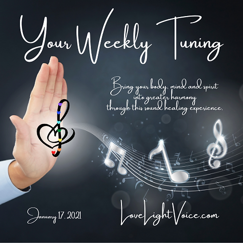 Your Weekly Tuning:  January 17, 2021