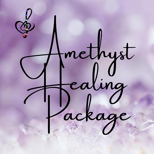 Amethyst Reiki Healing Package:  4 Distance Healing Sessions w/PDF notes