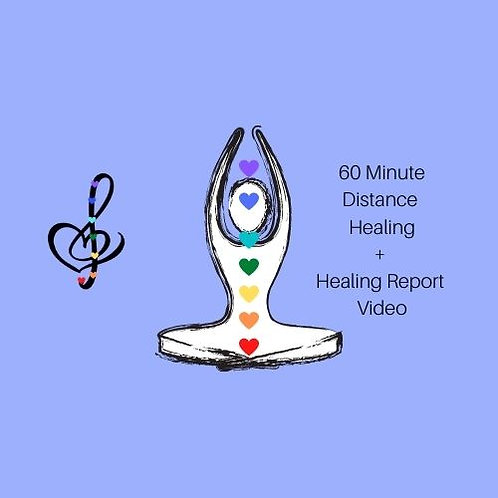 60 Minute Distance Reiki Healing Session +Healing Report Video