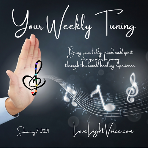 Your Weekly Tuning:  January 7, 2021