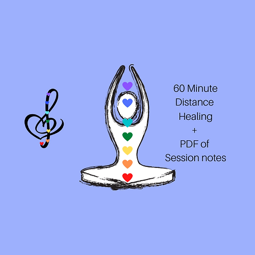 Distance Reiki Healing Session + PDF of Session Notes