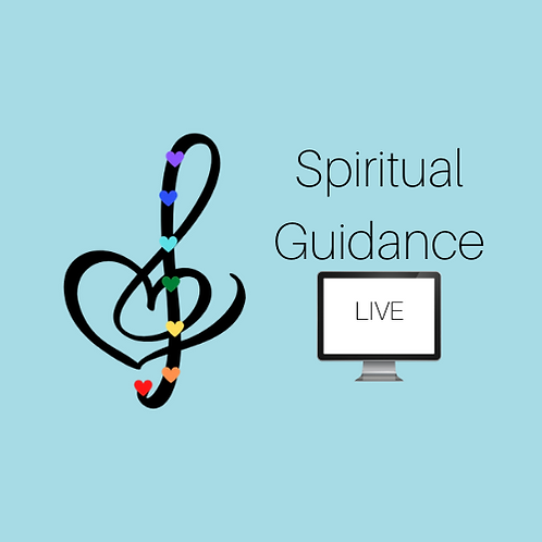 Live, Online: Spiritual Guidance Session