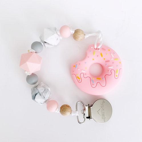 Donut Teether - Grace Clip
