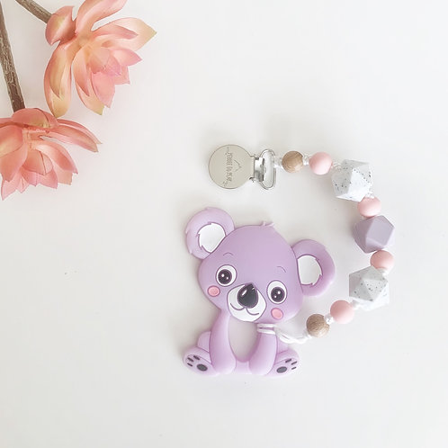Lilac Koala Teether