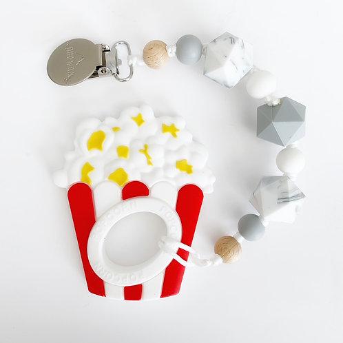 Popcorn Teether - Bailey Clip