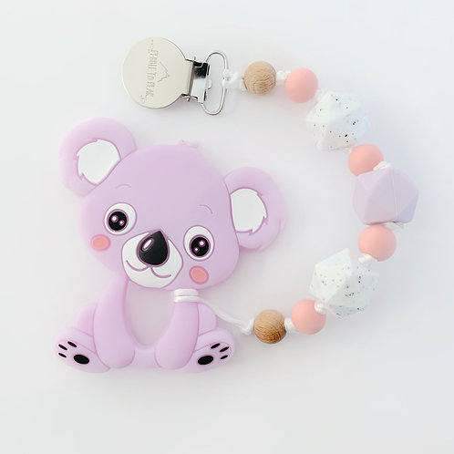 Koala Teether - Emma Hex Clip