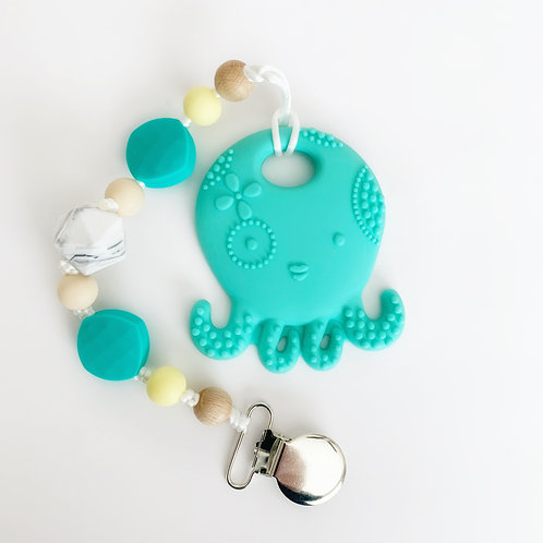 Octopus Teether - Taylor Clip