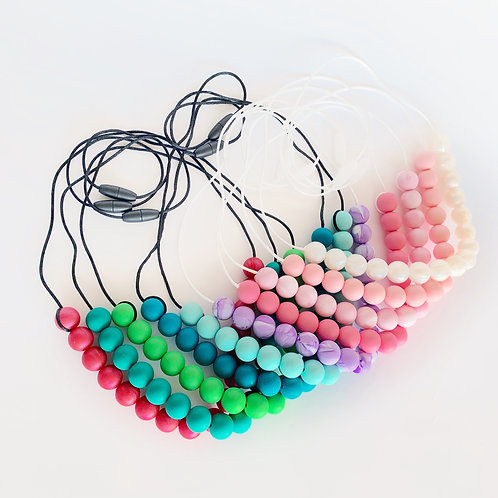 Kids Sensory Solid Necklace