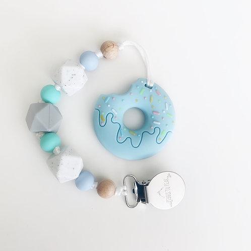 Blue Donut Teether