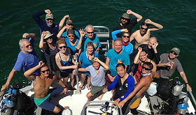 19 divers participated in REEF's FL Keys Trip 2016