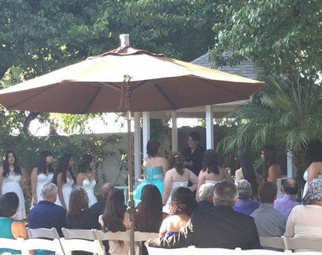 Quinceanera Blessing Ceremony