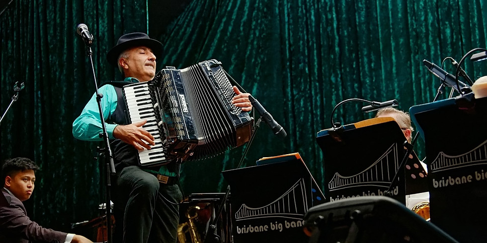 Domenico and The Brisbane Big Band 'Love That Sound'