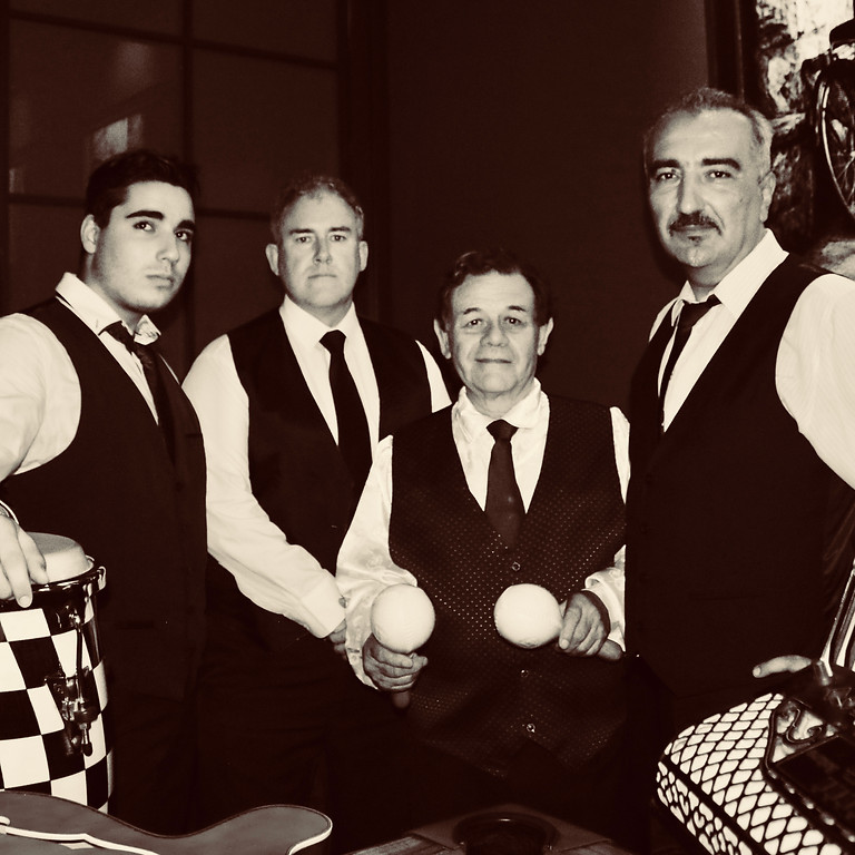 Tequila Latin Night - Domenico and the Art Deco Band