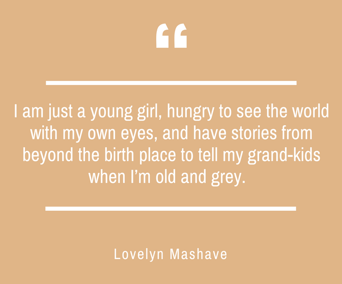 Lovelyn Mashave Quotes