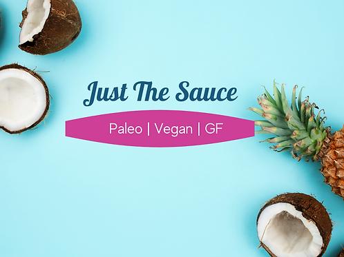 Just The Coconut Sauce | 1 Quart