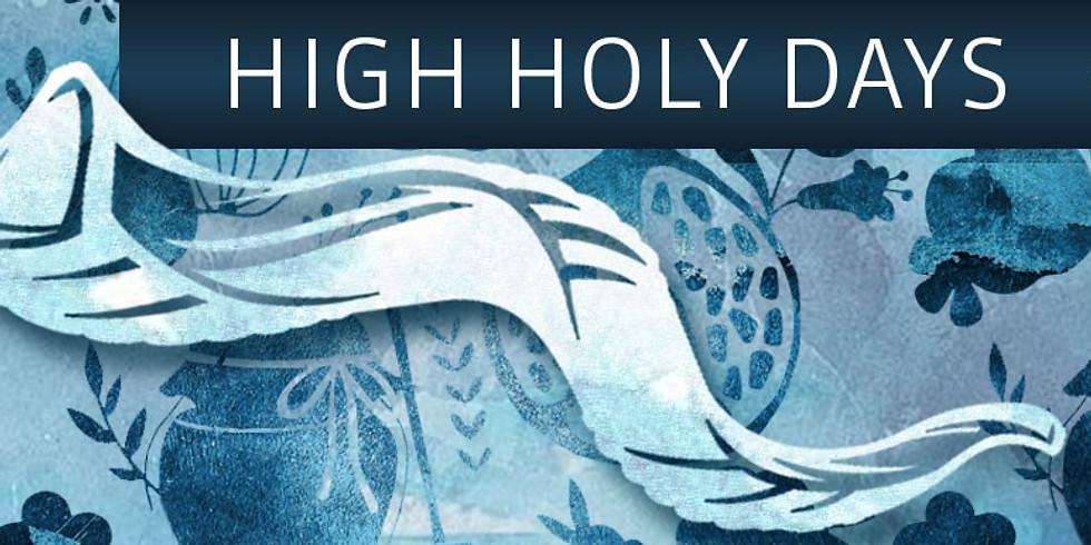 2019 ·  TorahNYC-TUJ · High Holy Days  · 5780