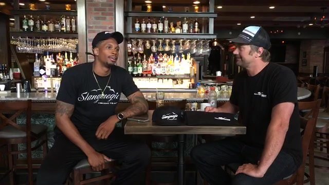 Saltwater Underground Live with NY Knicks Lance Thomas on his new fishing team #Slangmagic!