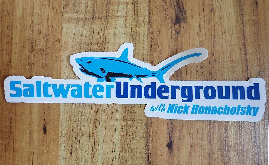Saltwater Underground Sticker