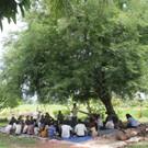 Christian Service under Tamarind Tree
