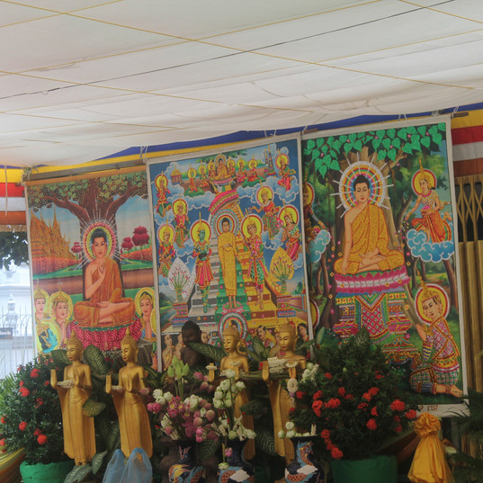Main religion of Cambodia